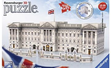 Ravensburger Buckingham Palace, 216pc 3D Jigsaw Puzzle