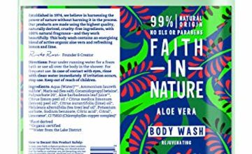 20% Off Faith in Nature Body Wash