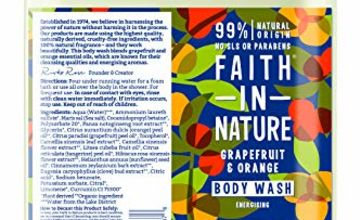 25% Off Faith in Nature 5L Body Wash