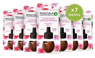 Save on Botanica by Air Wick Scented Oil for Electrical Plug Diffuser Island Rose & African Geranium Refill x7, 19 ml and more