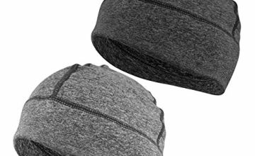 EINSKEY Beanie Hat for Men Women, 2 Pack Winter Indoor Thin