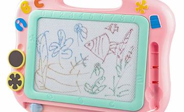 Magna Doodle Pad for 3 year old girl gifts,Magnetic Drawing