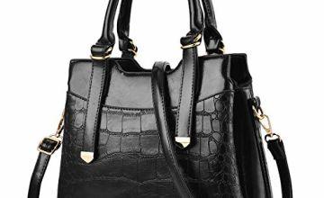 Designer Handbags for Women Handbag and Purse Crocodile Leat