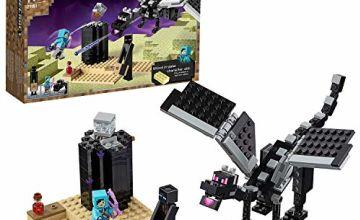 LEGO 21151MinecraftTheEndBattleCollectibleToy