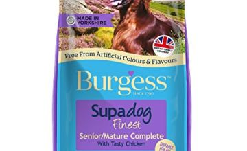 Burgess Mature Dog Food Rich in British Chicken 12.5kg