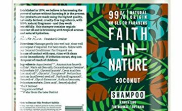 25% Off Faith in Nature 5L Haircare
