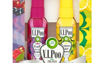 Save on Air Wick ViPoo Pre-Poo Toilet Spray and more