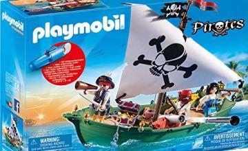 Playmobil 70151 Pirate Ship with Underwater Motor
