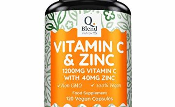 Vitamin C 1200mg & Zinc 40mg per Daily Serving