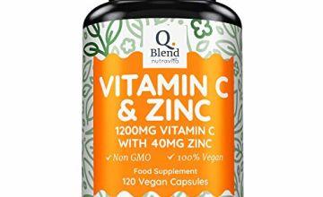 Vitamin C 1200mg & Zinc 40mg