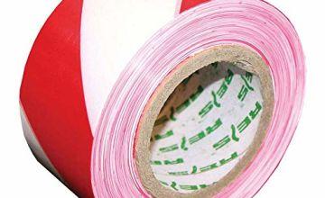 Reis TASO100CW-31S Warning Tape, Red-White
