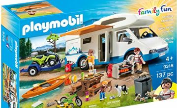 Exclusive Playmobil 9318 Family Fun Camping Mega Set, for Children Ages 4+