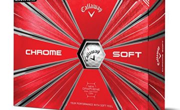 20% Off Callaway Chrome Soft Golf Balls