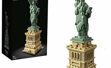 LEGO 21042 Architecture Statue of Liberty Model Building Set, Construction Collectible Gift Idea, New York Souvenir, Contains 1685 Pieces