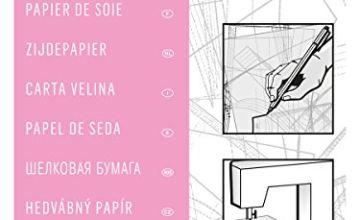 Burda 2Gtis | Dressmakers Tissue Paper | 110 x 150 cm, Pink, One Size
