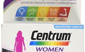 Centrum Pfizer, Multivitamin Tablets for Women, 60 Tablets