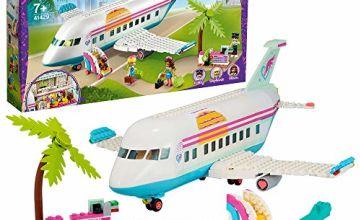 LEGO 41429 Friends Heartlake City Aeroplane Toy, Summer Holiday Series