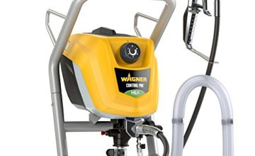 Save on Wagner Airless ControlPro 250 M Paint Sprayer for Wall & Ceiling/Wood & Metal paint - interior and exterior usage, covers 15 m² in 3 min, 200 bar, adjustable spray pressure, 10 m hose and more