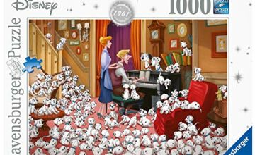 Ravensburger UK 13973 Disney Collector's Edition 101 Dalmations 1000 Jigsaw Puzzle for Adults-Every Unique, Softclick Technology Means Pieces Fit Together Perfectly