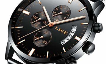 Watch Men's Watches Fashion Casual Design Waterproof Quartz