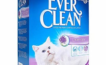 Ever Clean Lavender Clumping Cat Litter, 10 Litre, Scented