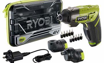 Ryobi ERGO-A2 4V Cordless Screwdriver Kit