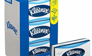 Save on Kleenex 8824 Facial Tissues, 3 Ply, White, 12 Cartons x 72 Sheets and more