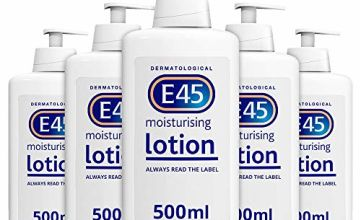 E45 Dermatological Moisturising Lotion x 5