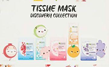 35% off Garnier Tissue Masks