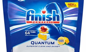 Finish Powerball Quantum Lemon Sparkle Dishwasher
