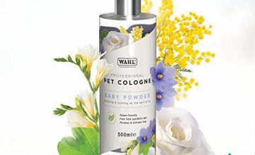 Save on Wahl Dog Perfume Spray, dog deodoriser spray / dog cologne - baby powder 500ml and more