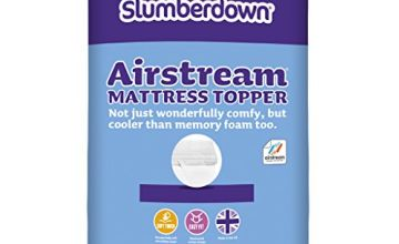Save on Slumberdown Airstream Mattress Topper, White, King Size Bed and more