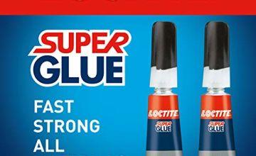 Loctite Universal, Strong All Purpose Adhesive for High-Quality Repairs, Clear Glue for Various Materials, Easy to Use Instant Super Glue, 2 x 3g
