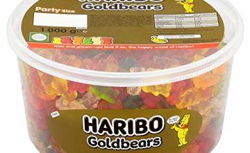 Haribo Gold Gummy Bear Bulk Sweets, 1 kg