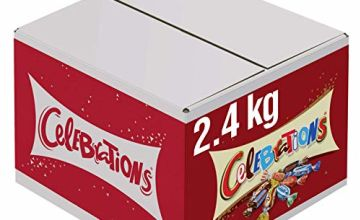 Celebrations Chocolate Bulk Box, for Gift Bag, (Maltesers, Galaxy, Snickers and More), 2.4 kg
