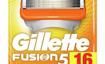 Save on Gillette Razor Blades 16 Refills