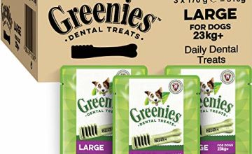 Up to 34% off Greenies originals and grain-free dog treats