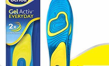 Scholl Insoles Women's Everyday, Gel Active, UK Shoe Size 3.5-7.5