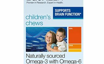 Save on Equazen Childrens Chews | Omega 3 and Omega 6 Supplement | 180 Strawberry Flavoured Chews | Clinically Researched Blend of DHA, EPA and GLA | Suitable for Children From 3 Years to Adult and more