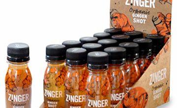 James White Drinks Organic Ginger Zinger Shot 70 ml