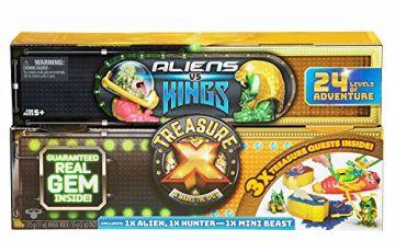 TREASURE X 41516 Aliens V Kings Treasure Chest-Styles, Colours Vary
