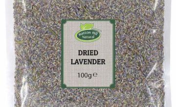 Hatton Hill Dried Lavender 100g - Premium Quality