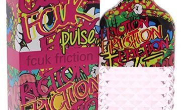 Fcuk Friction Pulse Eau De Parfum Spray for Her, 100 ml