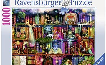Ravensburger 19684 Magische Märchenstunde 1000 Teile Erwachsenenpuzzle - von Colin Thompson Adult puzzle, brown