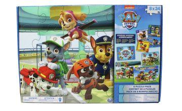 PAW Patrol Mega 8 Puzzle Pack