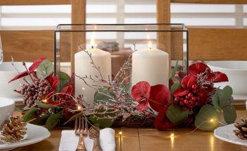 Argos Home Berry Christmas Centrepiece