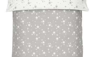 Argos Home Brushed Cotton Star Bedding Set
