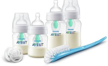 Philips Avent AirFree Vent Anti-Colic Set SCD399 Bottles
