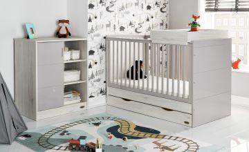 Obaby Madrid 2 Piece Nursery Furniture Set - Lunar