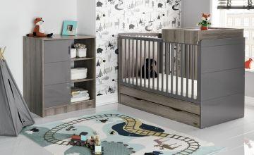 Obaby Madrid 2 Piece Nursery Furniture Set - Eclipse